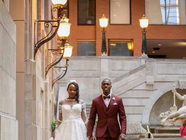 Amadou and Ramatoulaye's wedding in Montreal, Quebec 4