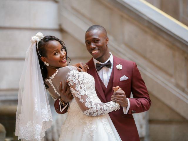 The wedding of Ramatoulaye and Amadou