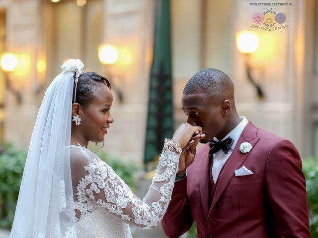 Amadou and Ramatoulaye's wedding in Montreal, Quebec 9