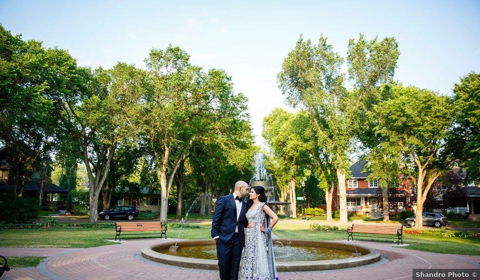 Rajat and Sheena's wedding in Edmonton, Alberta