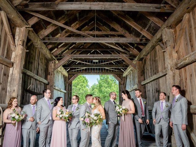 Kevin and Alison's wedding in Pontypool, Ontario 2