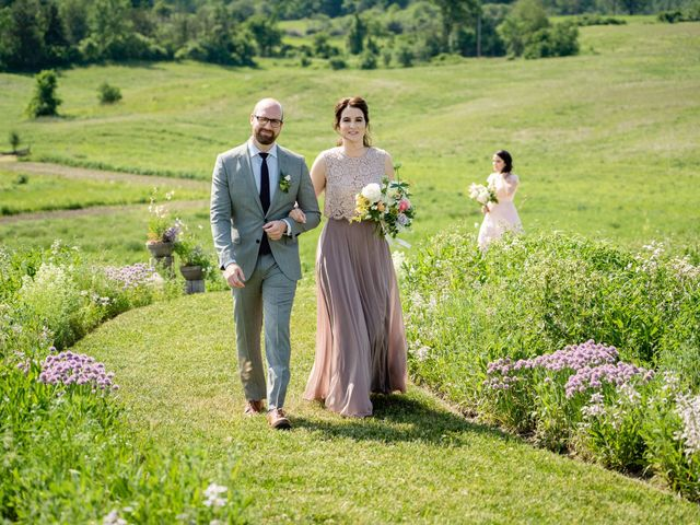 Kevin and Alison's wedding in Pontypool, Ontario 41