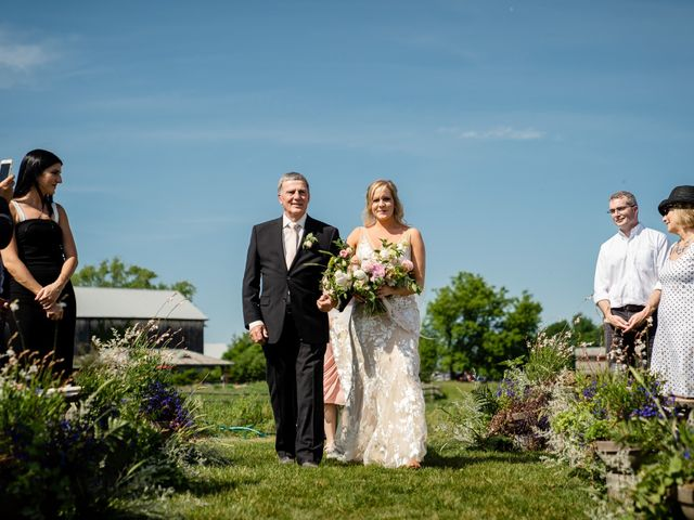 Kevin and Alison's wedding in Pontypool, Ontario 42