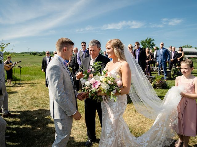 Kevin and Alison's wedding in Pontypool, Ontario 43
