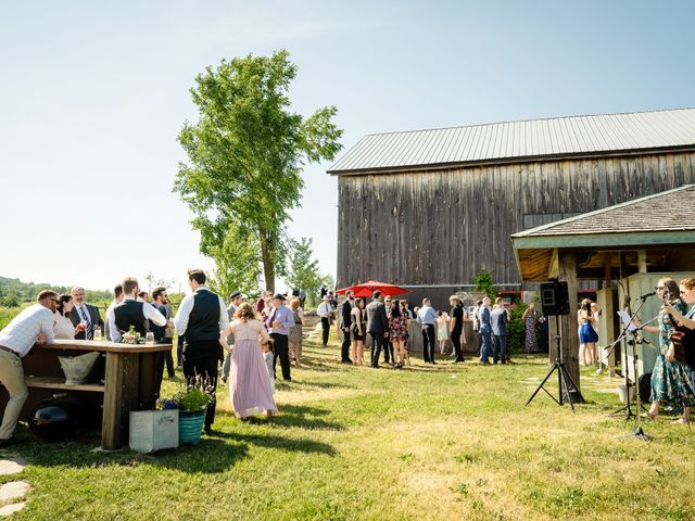 Kevin and Alison's wedding in Pontypool, Ontario 55