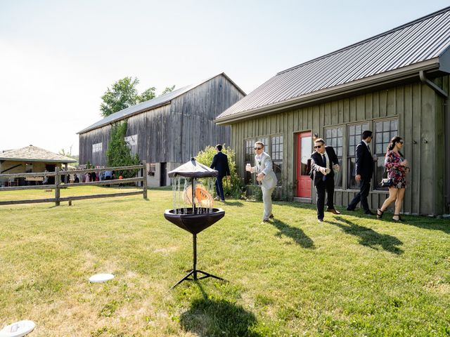 Kevin and Alison's wedding in Pontypool, Ontario 56