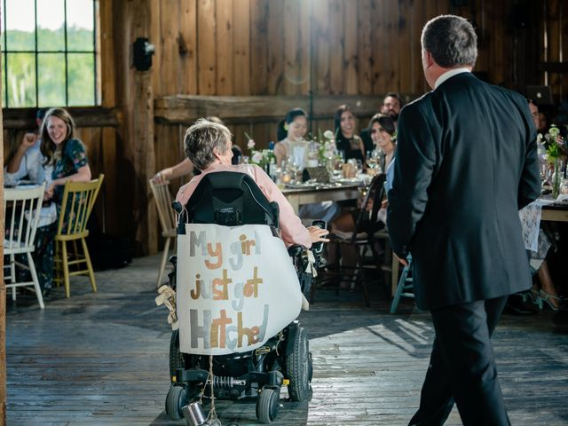 Kevin and Alison's wedding in Pontypool, Ontario 61