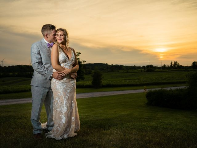 Kevin and Alison's wedding in Pontypool, Ontario 72