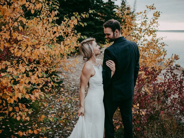 Phil and Britney's wedding in Riding Mountain, Manitoba 7