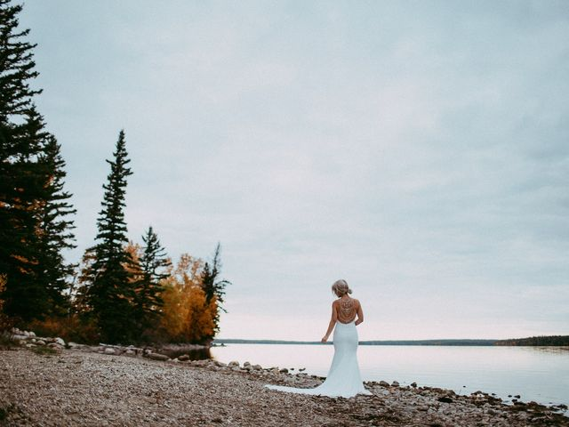 Phil and Britney's wedding in Riding Mountain, Manitoba 10