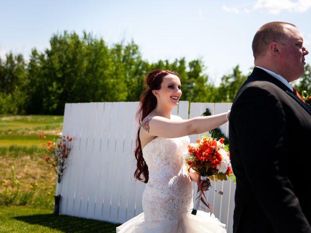 Matt and Kyla's wedding in Nisku, Alberta 24