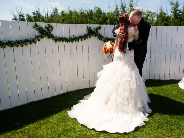 Matt and Kyla's wedding in Nisku, Alberta 27