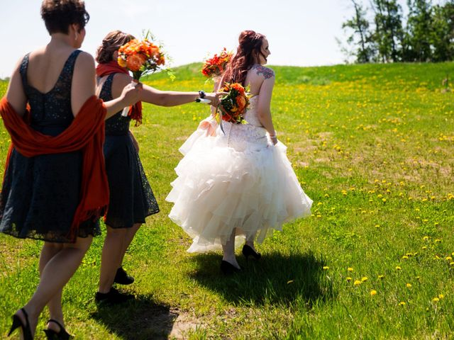 Matt and Kyla's wedding in Nisku, Alberta 30