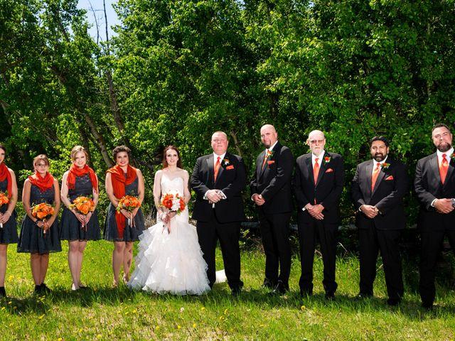 Matt and Kyla's wedding in Nisku, Alberta 31