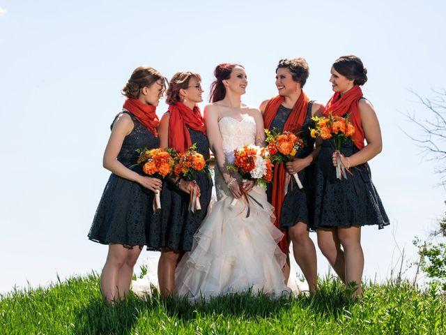 Matt and Kyla's wedding in Nisku, Alberta 1