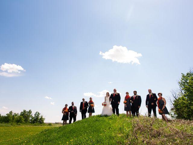 Matt and Kyla's wedding in Nisku, Alberta 40
