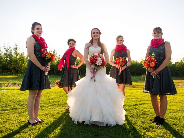 Matt and Kyla's wedding in Nisku, Alberta 90