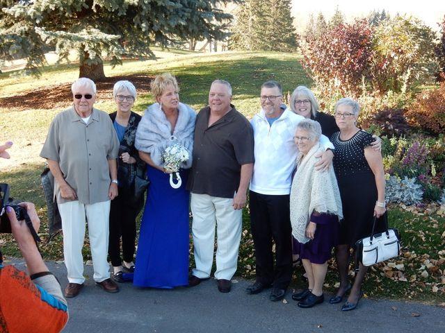 Dwight  and Sheila 's wedding in Calgary, Alberta 2