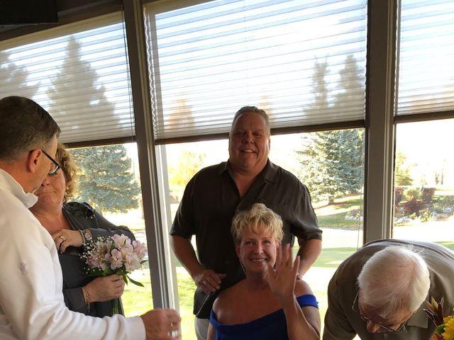 Dwight  and Sheila 's wedding in Calgary, Alberta 4