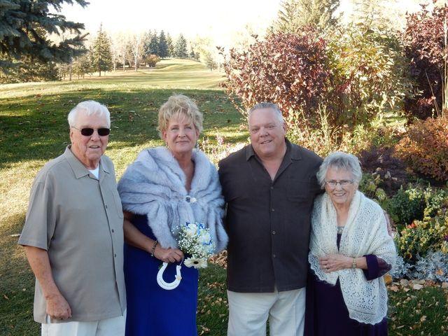 Dwight  and Sheila 's wedding in Calgary, Alberta 6