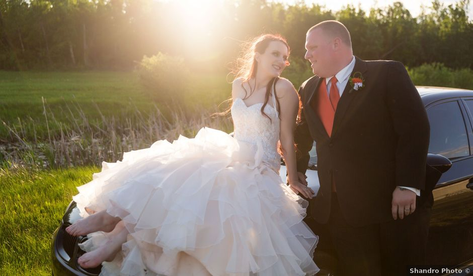 Matt and Kyla's wedding in Nisku, Alberta