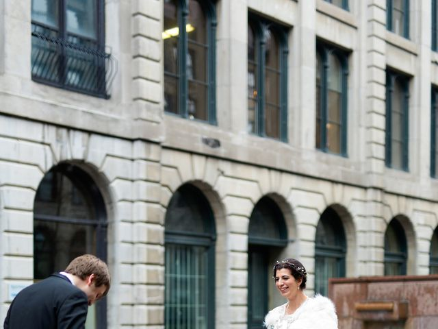 Alexandre and Ellie's wedding in Montreal, Quebec 44