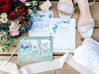 The wedding of Amanda and Mark 1