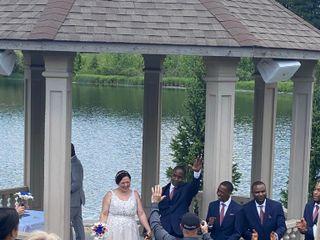 The wedding of Melissa and Errol 3