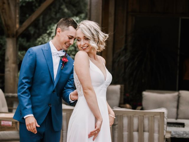 Landon and Ewa's wedding in Abbotsford, British Columbia 1