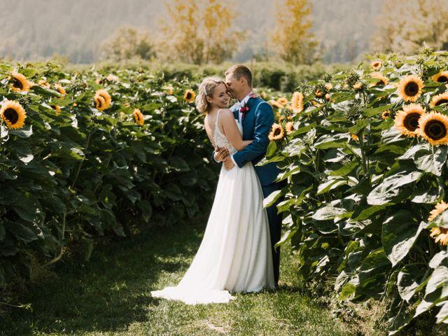 Landon and Ewa's wedding in Abbotsford, British Columbia 2