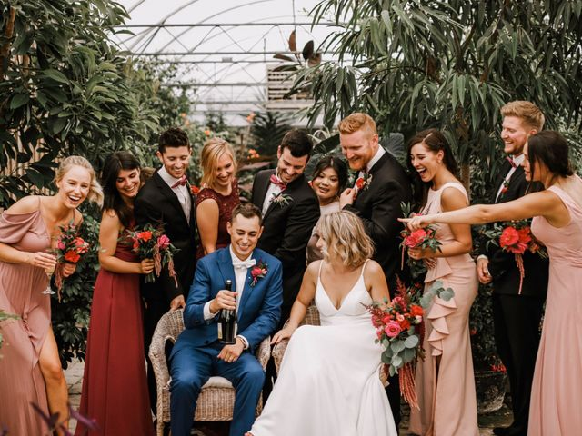 The wedding of Ewa and Landon