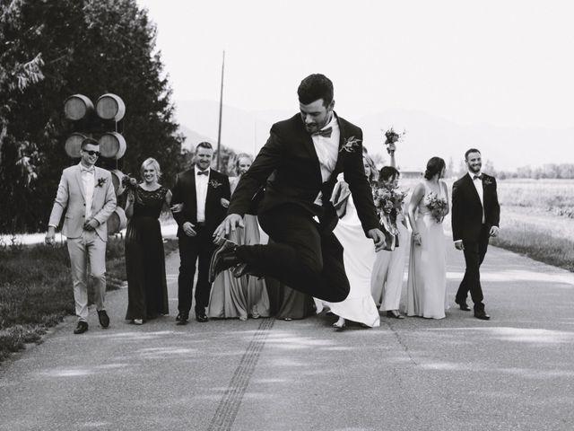 Landon and Ewa's wedding in Abbotsford, British Columbia 44