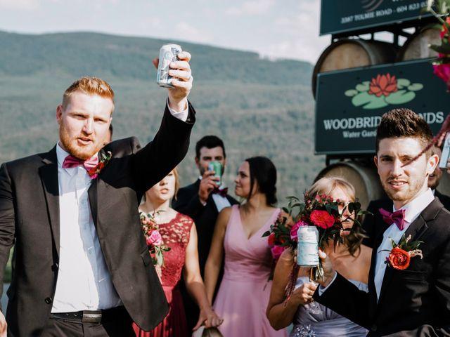 Landon and Ewa's wedding in Abbotsford, British Columbia 45
