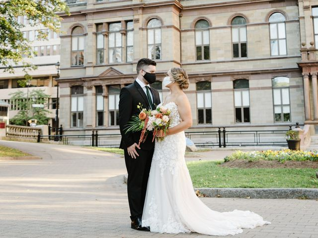 The wedding of Paige and Darcy