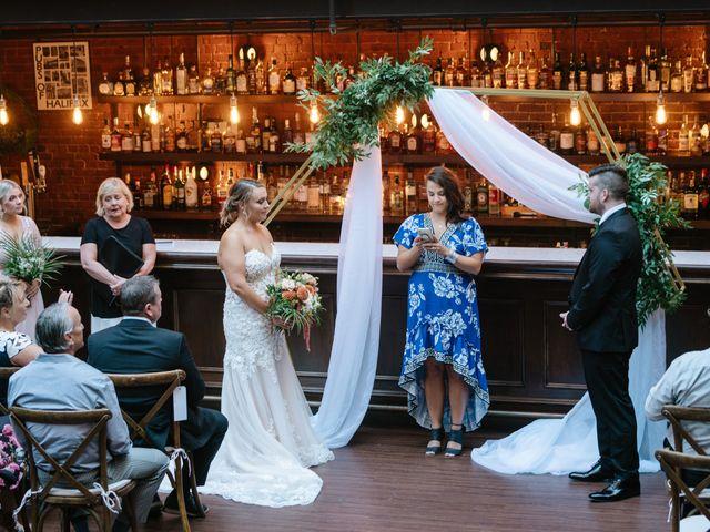 Darcy and Paige's wedding in Halifax, Nova Scotia 11
