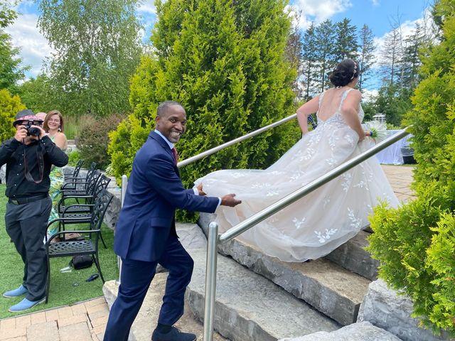 The wedding of Melissa and Errol