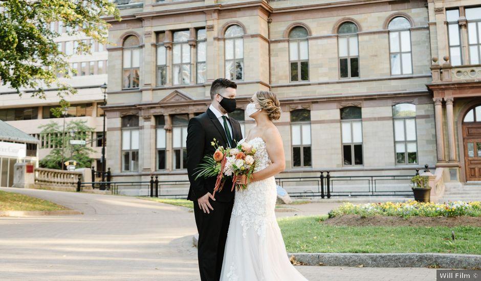 Darcy and Paige's wedding in Halifax, Nova Scotia