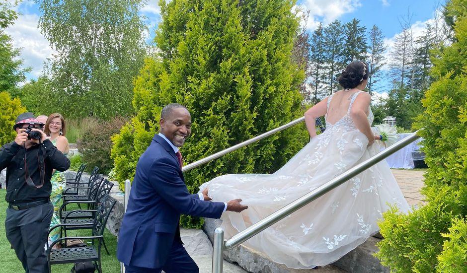 Errol and Melissa's wedding in Caledon, Ontario
