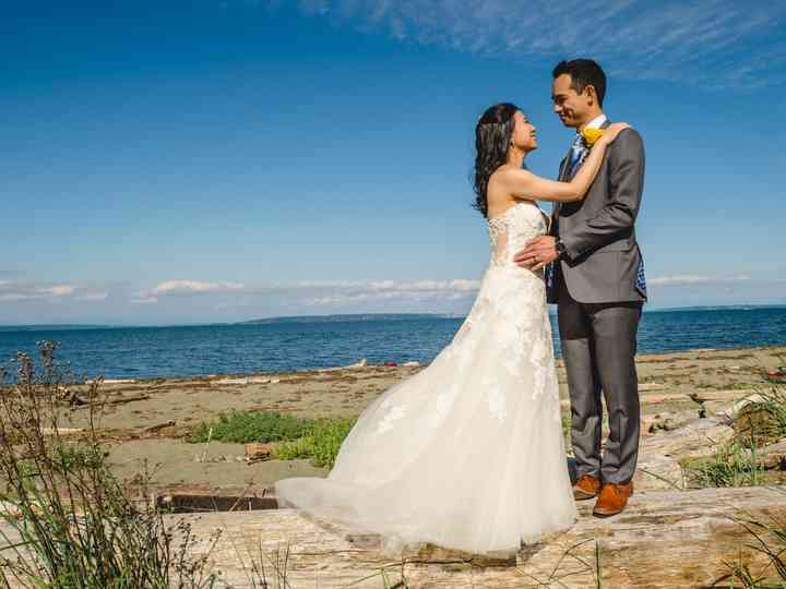 The wedding of Jade and Chris