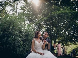 The wedding of Miguel and Romeela 1