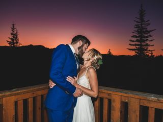 The wedding of Courtney and Dillon