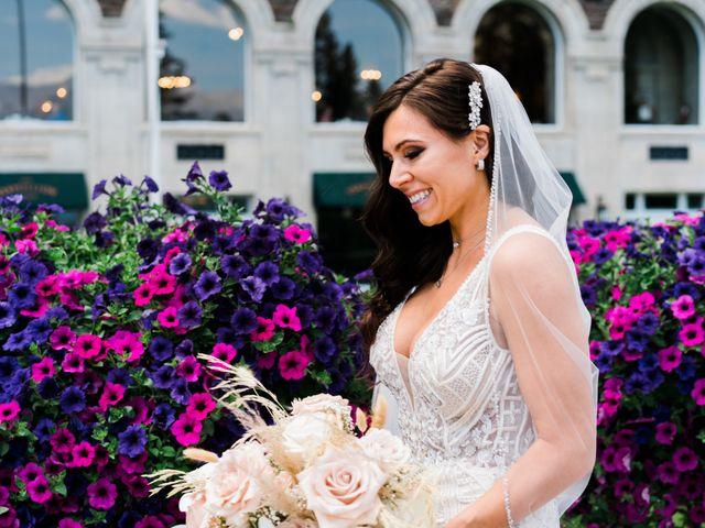 Michael and Larissa's wedding in Banff, Alberta 6