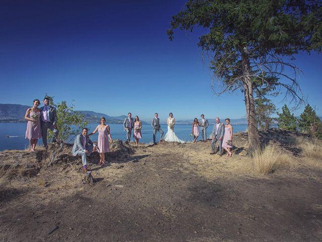 Jason and Brooke's wedding in Kelowna, British Columbia 74