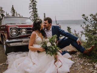 The wedding of Ashlee and Richard