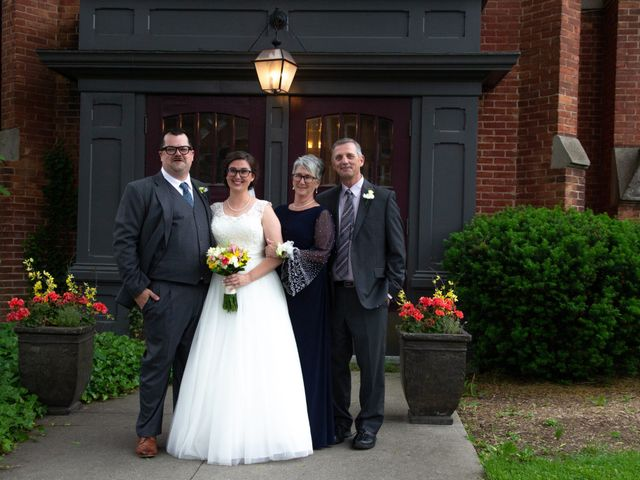 The wedding of Andrea and Scott