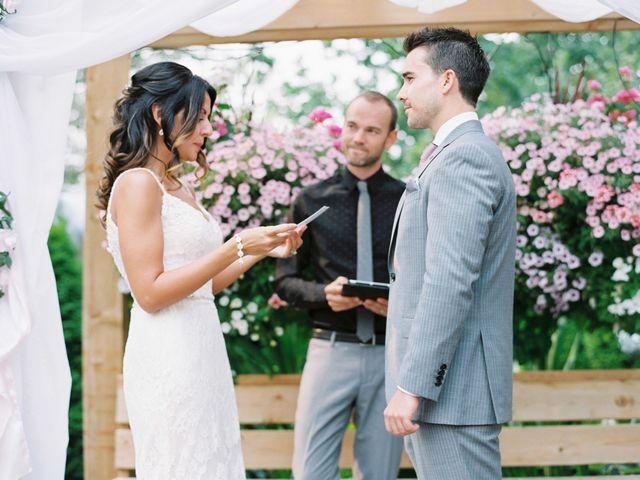 Ben and Sara's wedding in Langley, British Columbia 2