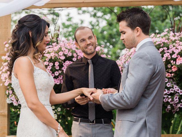 Ben and Sara's wedding in Langley, British Columbia 45