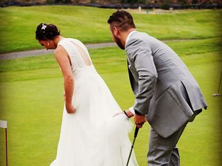 The wedding of Marisa and Nick 1