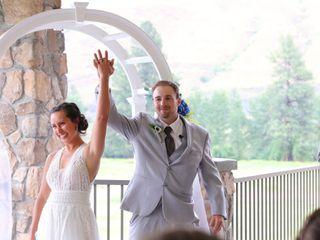 The wedding of Marisa and Nick