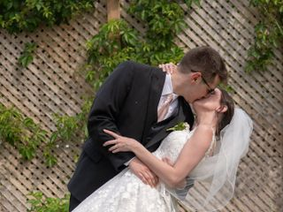 The wedding of Bernadette Brubacher and Kyle Brubacher 1